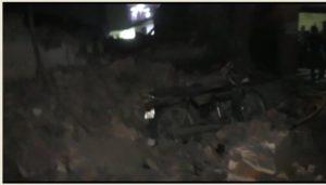 Jammu Kabir Nagar area building fell Near house , Many injured