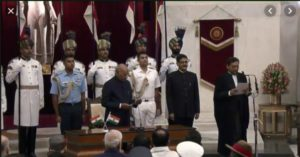 Justice Sharad Arvind Bobde Today sworn in as 47th Chief Justice of India