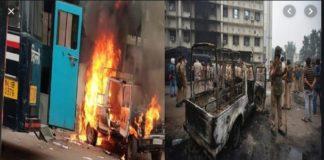 Delhi Tis Hazari violence after Karkardooma court lawyers clash