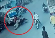 Rajasthan: Biker breaks traffic rule, drags woman constable when stopped