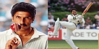 '83 new look: Ranveer Singh shares Kapil Dev's iconic 'Natraj Shot'