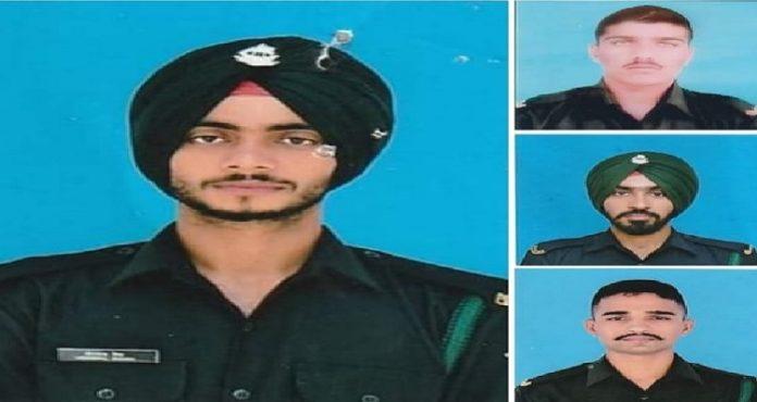 Punjab Latest News, Three Punjabi Jawans brave snowy graves in Siachen