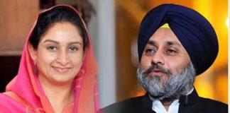 Sukhbir Singh Badal and Harsimrat Kaur Badal greets Hola Mohalla and Holi