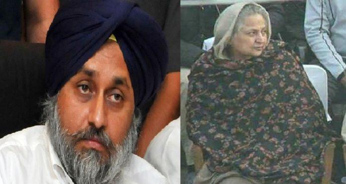 Sukhbir Singh Badal expresses grief at passing away of Radha Soami chief's wife Shabnam Dhillon