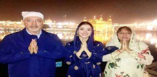 Amritsar: Baahubali actress Tamannaah Bhatia pays obeisance at Golden Temple