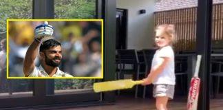 David Warner's daughter Indi Rae wants to be Virat Kohli; Indian skipper responds