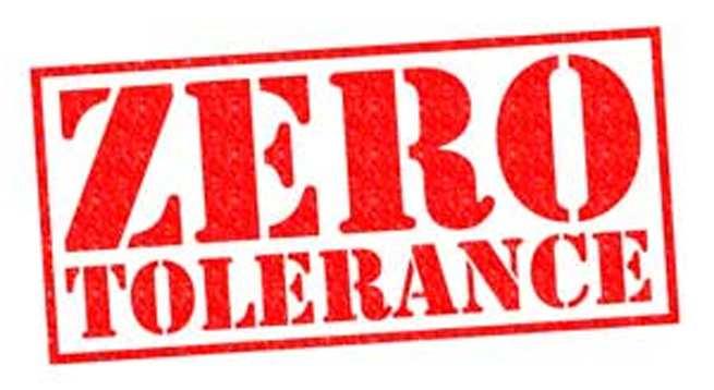 Zero-tolerance (1)