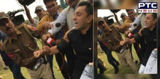 Delhi Police detains Tehseen Poonawalla for staging protest against Pragya Thakur