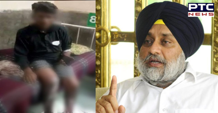 Sukhbir Singh Badal condemns barbaric treatment meted out to Dalit