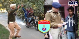 Chandigarh Police wins 'catch if you can' challenge, violator handed over challan after 48 hrs