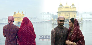 Amritsar: Deepika Padukone, Ranveer Singh pays obeisance at Golden Temple