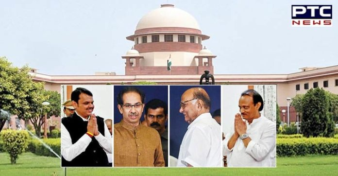 Maharashtra Politics: SC reserves its order for tomorrow on NCP-Congress-Shiv Sena petition