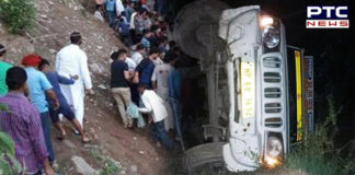 Himachal Pradesh: 17 injured as overloaded jeep rolls down hill in Kangra