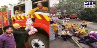 Gurudwara in Australia serves langar to exhausted firefighters [PHOTOS]
