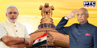 PM Narendra Modi and President Ram Nath Kovind extend wishes on Constitution Day