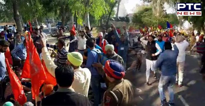 Punjab: Dalit Man forced to drink urine, murdered in Sangrur, Locals protest