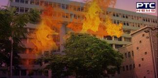 Delhi: Fire breaks out in Sales Tax building in ITO area, no casualties