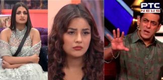 Bigg Boss 13: Salman Khan slams Himanshi Khurana for pushing Shehnaz Gill?