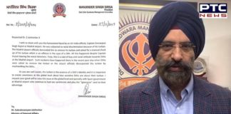Air India pilot forced to remove turban at Spain airport, Manjinder Singh Sirsa writes to EAM