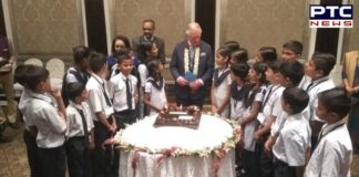 Mumbai : Prince Charles celebrates 71st birthday with school children
