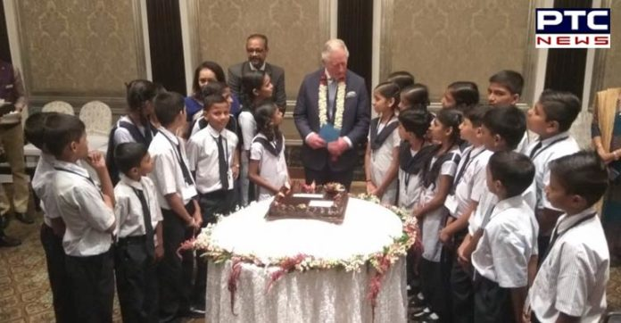 Mumbai : Prince Charles celebrates 71st birthday with school children