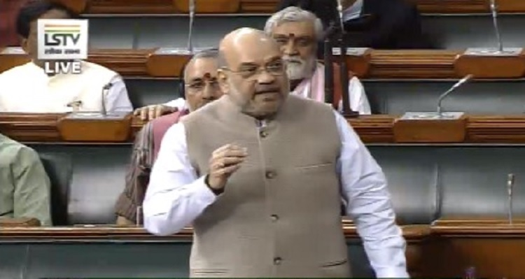 Situation in Kashmir valley is completely normal: Amit Shah in Lok Sabha