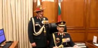 General Manoj Mukund Naravane takes over as the 28th Chief of Army Staff