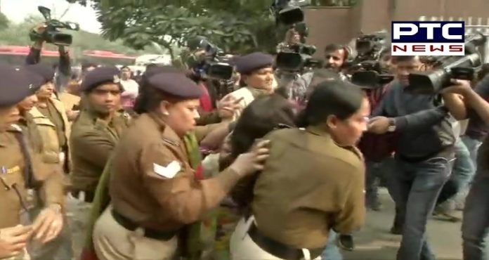 Protesting against Unnao rape case, woman throws petrol on her 6-year-old daughter