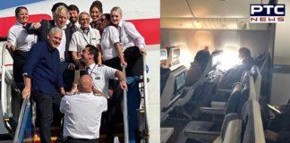 British Prime Minister Boris Johnson and girlfriend Carrie Symonds Flew Economy Class' To Saint Lucia