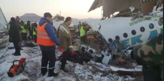 Kazakhstan Plane With 100 On Board Crashes Into Building, At Least 9 Killed