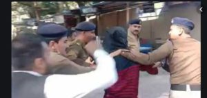 Indore: Lawyers present at court premises attempted to thrash an accused in a minor girl rape case