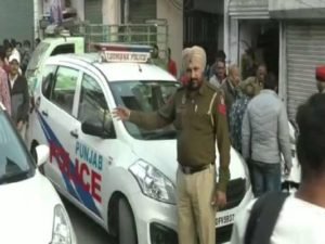 Ludhiana Dreshi Ground Near Firing , young man injured