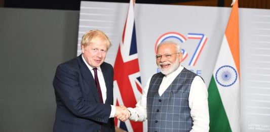 PM Narendra Modi congratulates Boris Johnson for thumping victory in UK election 2019