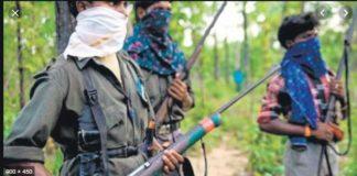 Bihar Lakhisarai district Naxals shot dead two people