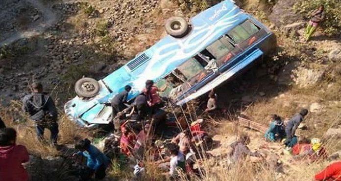 Nepal: 13 killed, dozens injured in Sindhupalchok bus accident