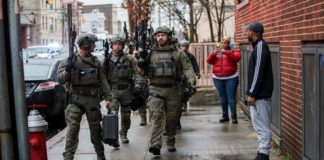 Police officer among six killed in New Jersey shooting