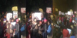 Chandigarh: Panjab University students stage protest over Jamia Millia Islamia police action