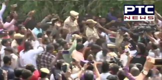 Hyderabad Horror: People celebrate and cheer for police at the encounter site [VIDEO]