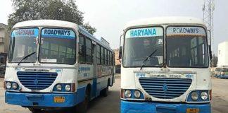 Nationwide strike on January 8, chakka jam of haryana roadways throughout the state