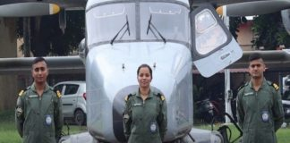 Indian Navy's first woman pilot Lt Shivangi to join operations in Kochi