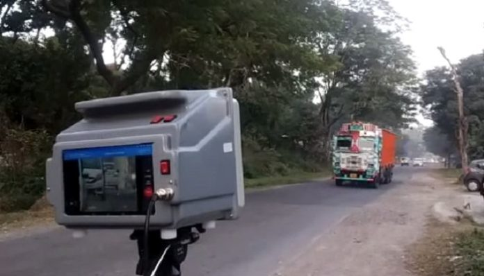 Speed guns installed to reduce road accidents in hill state