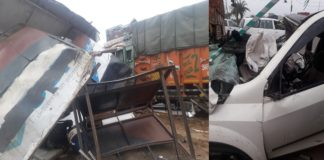 Zirakpur Road Accident