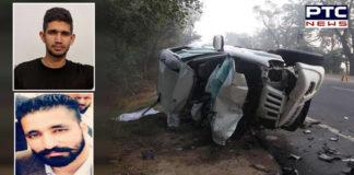 Sunam -Patiala Sanjuma village Near Road Accident , Air Force Two young men Death