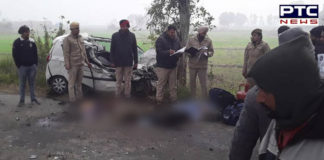 Jalandhar: Two RPF soldiers killed in a road accident at Naugajja village in Kartarpur