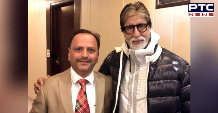 Punjab: Amitabh Bachchan reaches Ropar after completing Brahmastra shoot at Manali