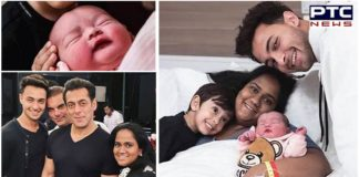 Aayush Sharma shares first photos of daughter Ayat Sharma Salman Khan