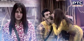 Bigg Boss 13: Mahira Sharma kisses Paras Chhabra to tease Shehnaz Gill