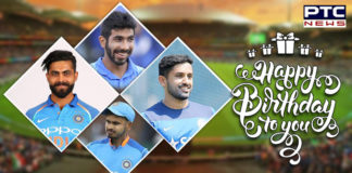 BCCI wishes Jasprit Bumrah, Ravindra Jadeja, Shreyas Iyer and Karun Nair on their birthday