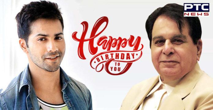 Varun Dhawan extends birthday wishes to Dilip Kumar