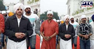 Indian Actor Jimmy Shergill at Sri Harmandir Sahib Amritsar